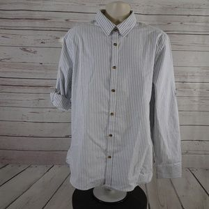 Five Four Mark McNairy Roll Tab Button Front Shirt
